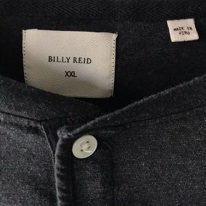 Billy Reid Shirts - Billy Reid Hartford Slim Fit Henley